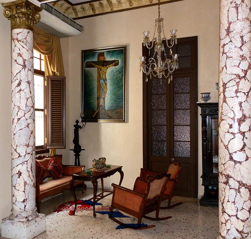 Колониална къща за гости във Ведадо Хавана. Къщата на Oсмари