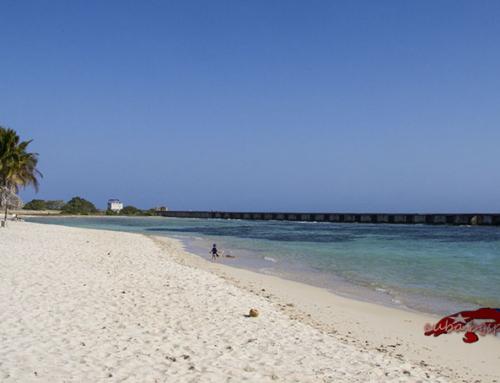Плажът Хирон в Куба