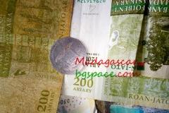 Обмяна на пари в Мадагаскар