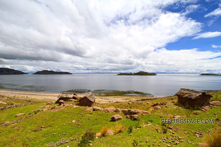 Езерото Титикака Перу. Енергията на света.