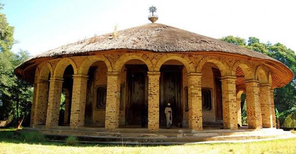 Манастир в Етиопия