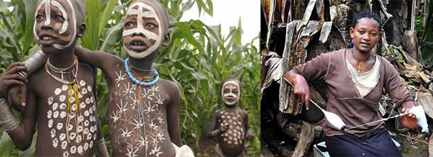 Племена Етиопия